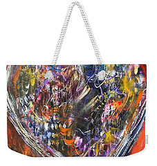 Love Weekender Tote Bag by Gail Butters Cohen