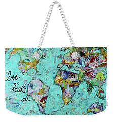 Love Heals All Weekender Tote Bag