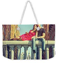Love In Big City Weekender Tote Bag