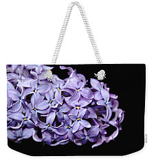 Love In Lilac Weekender Tote Bag