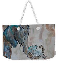 Love In Momma's Arms Weekender Tote Bag