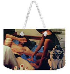 Love In The Afternoon Weekender Tote Bag