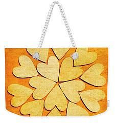 Love Interlinked Weekender Tote Bag