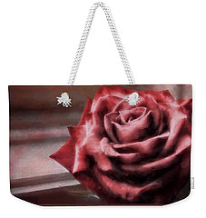 Love Is A Rose Weekender Tote Bag
