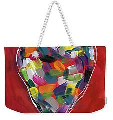Love Is Colorful - Art By Linda Woods Weekender Tote Bag