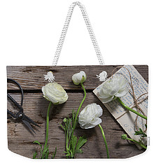 Weekender Tote Bag featuring the photograph Love Is Everlasting by Kim Hojnacki