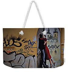 Love Is Everywhere Weekender Tote Bag by AmaS Art