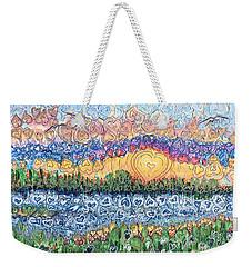 Love Is Everywhere If You Look Weekender Tote Bag