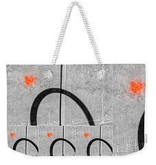 Love Is Everywhere Weekender Tote Bag