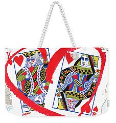 Love Is In The Cards Weekender Tote Bag by Seth Weaver