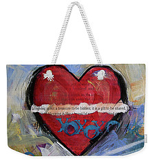 Love Is Kind Weekender Tote Bag