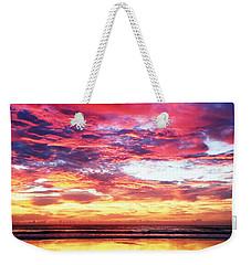 Love Is Real Weekender Tote Bag by LeeAnn Kendall