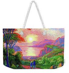 Love Is Sharing The Journey Weekender Tote Bag