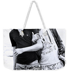Weekender Tote Bag featuring the photograph Love Is Us  by Jez C Self
