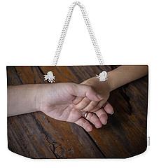 Love Keep Us Alive Weekender Tote Bag by Jingjits Photography