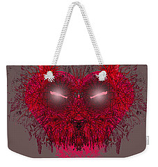 Love Kitty Be Mine Weekender Tote Bag by Suzanne Powers