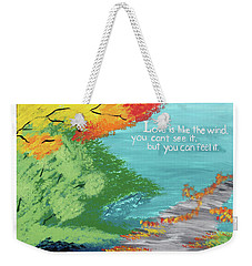 Love Like The Wind Weekender Tote Bag by Cyrionna The Cyerial Artist