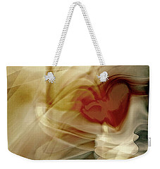Love  Weekender Tote Bag by Linda Sannuti