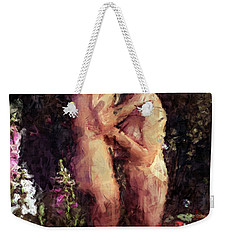 Love Me In The Garden Weekender Tote Bag