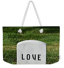 Love Monument Weekender Tote Bag