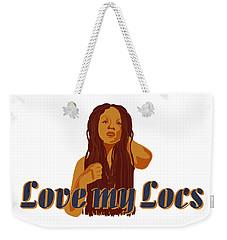 Love My Locs Weekender Tote Bag