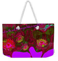 Love No. 4 Weekender Tote Bag