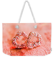Weekender Tote Bag featuring the photograph Love Of Crystals by Jorgo Photography - Wall Art Gallery