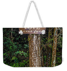 Love On A Tree Weekender Tote Bag