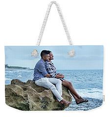 Love On The Rocks Weekender Tote Bag by John Black