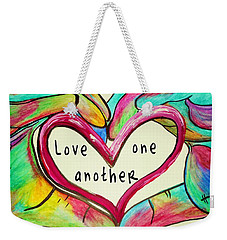 Love One Another John 13 34 Weekender Tote Bag