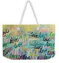 Love Reigns Weekender Tote Bag