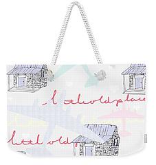 Love Shack Weekender Tote Bag by Beth Travers