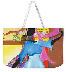 Love Song Weekender Tote Bag