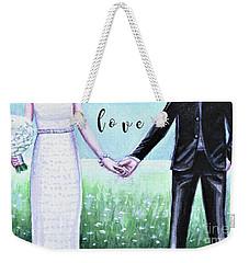 Love Together Weekender Tote Bag