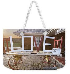 Love Train  Weekender Tote Bag by Melissa Messick