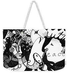 Love Truth Peace Weekender Tote Bag
