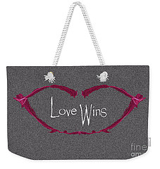 Love Wins Weekender Tote Bag