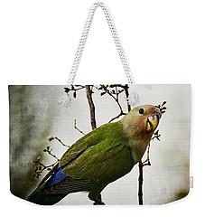 Lovebird  Weekender Tote Bag by Saija  Lehtonen