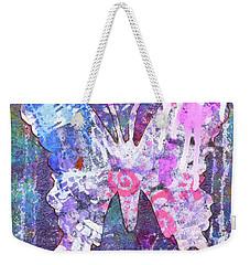 Loved Butterfly Weekender Tote Bag
