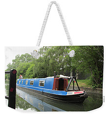 Loved-up On A Canal Boat - Park Royal Weekender Tote Bag