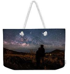 Loveing The  Universe Weekender Tote Bag