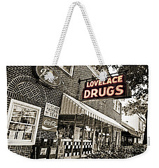 Lovelace Drugs Weekender Tote Bag