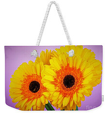 Lovely And Beautiful - Gerbera Daisies Weekender Tote Bag