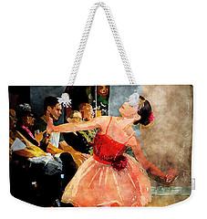 Lovely Ballerina Weekender Tote Bag