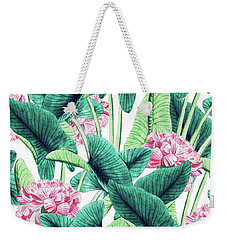 Lovely Botanical Weekender Tote Bag by Uma Gokhale