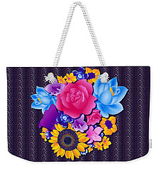 Lovely Bouquet Weekender Tote Bag by Samantha Thome