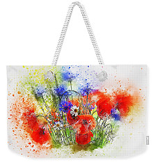 Watercolour Bouquet Weekender Tote Bag