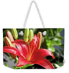 Lovely Flower Weekender Tote Bag