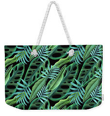Lovely Green  Weekender Tote Bag by Mark Ashkenazi