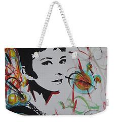 Lovely Hepburn Weekender Tote Bag